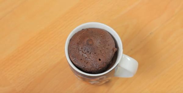 Кекс в микроволновке без сливочного масла фото 5