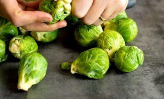 брюссельская капуста в микроволновке рецепты фото 3