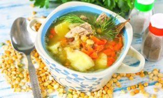 гороховый суп в микроволновке фото 1