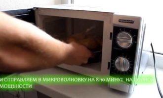 картошка в микроволновке по-деревенски фото 4
