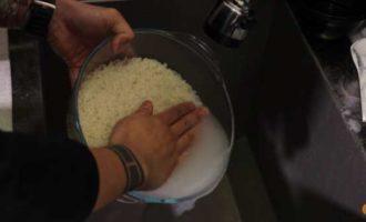 рис для роллов в микроволновке фото 2