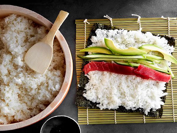 рис для роллов в микроволновке фото 9