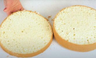 коржи для торта в микроволновке заглавное фото