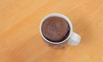 шоколадные маффины в микроволновке фото 7