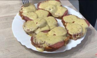 горячие бутерброды в микроволновке с сыром фото 8