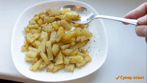 как пожарить в микроволновке картошку фото 8