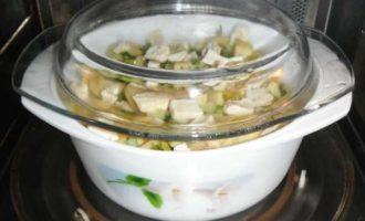 картошка в микроволновке с сыром фото 4