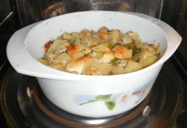 картошка в микроволновке с сыром фото 5