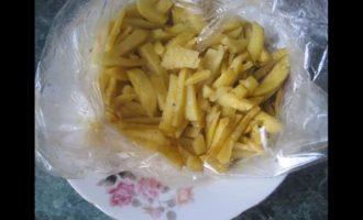 картошка в микроволновке в рукаве фото 1