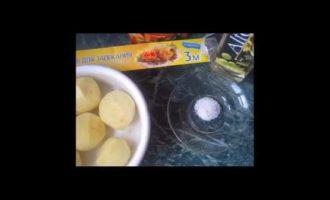 картошка в микроволновке в рукаве фото 2