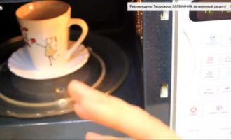кекс с бананом в микроволновке в кружке фото 10