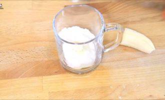 кекс с бананом в микроволновке в кружке фото 12