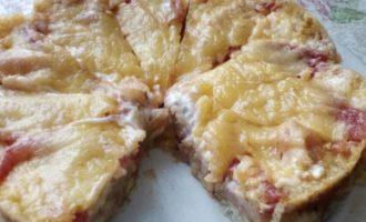 пицца на хлебе в микроволновке фото 8