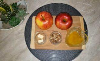 запеченные яблоки с медом в микроволновке фото 1