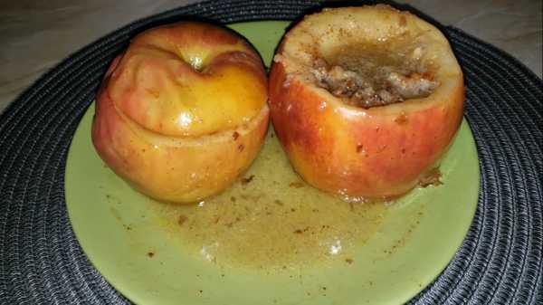 запеченные яблоки с медом в микроволновке фото 11