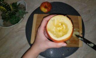 запеченные яблоки с медом в микроволновке фото 3