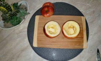 запеченные яблоки с медом в микроволновке фото 4