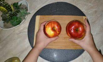 запеченные яблоки с медом в микроволновке фото 8