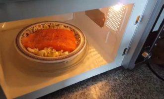 горбуша в микроволновке рецепты фото 4