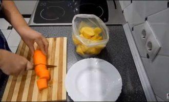 как сварить в микроволновке овощи фото 2