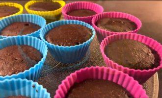 рецепт кексов в силиконовых формочках в микроволновке фото 1