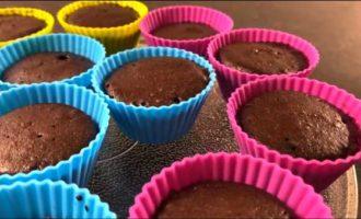 рецепт кексов в силиконовых формочках в микроволновке фото 7