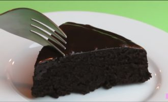 торт в микроволновке шоколадный фото 1