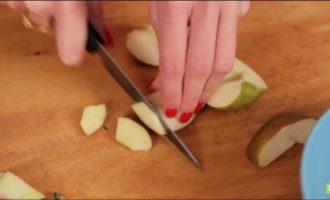 десерт из яблок в микроволновке фото 1