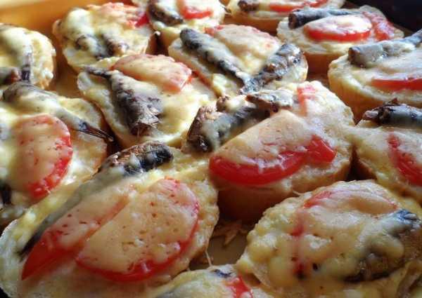 горячие бутерброды со шпротами в микроволновке фото 8