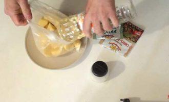как сварить картошку в микроволновке в пакете фото 3