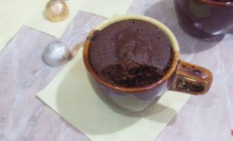 кофейный кекс в микроволновке фото 1
