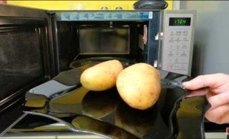 крошка картошка в микроволновке фото 2