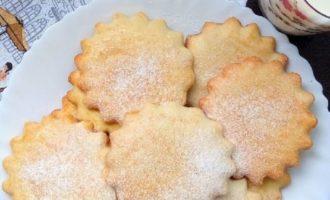 песочное печенье в микроволновке фото 8