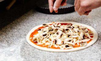пицца в микроволновке на готовой основе фото 4