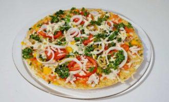 пицца в микроволновке на готовой основе фото 6