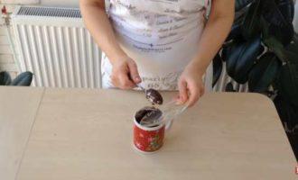 шоколадный кекс в микроволновке в кружке фото 5