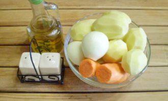 картошка с мясом в микроволновке фото 1