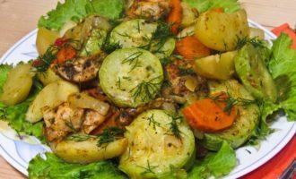 картошка с мясом в микроволновке фото 6