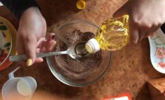шоколадный фондан в микроволновке фото 4