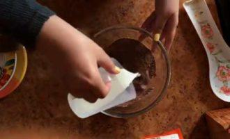 шоколадный фондан в микроволновке фото 5