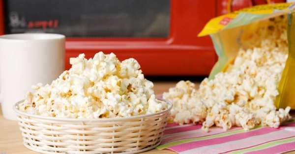 как приготовить попкорн в микроволновке фото 7