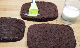 шоколадный пирог в микроволновке фото 16