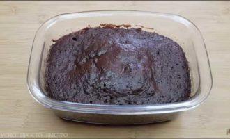 шоколадный пирог в микроволновке фото 7