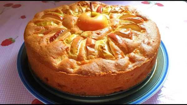 яблочный пирог в микроволновке фото 8