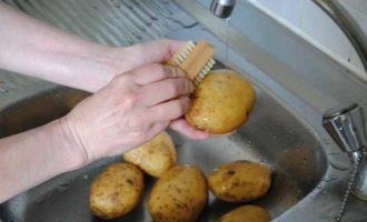 картошка в мундире в микроволновке фото 1