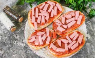 пицца в микроволновке на батоне фото 1
