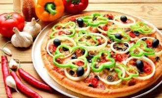 пицца в микроволновке фото 1